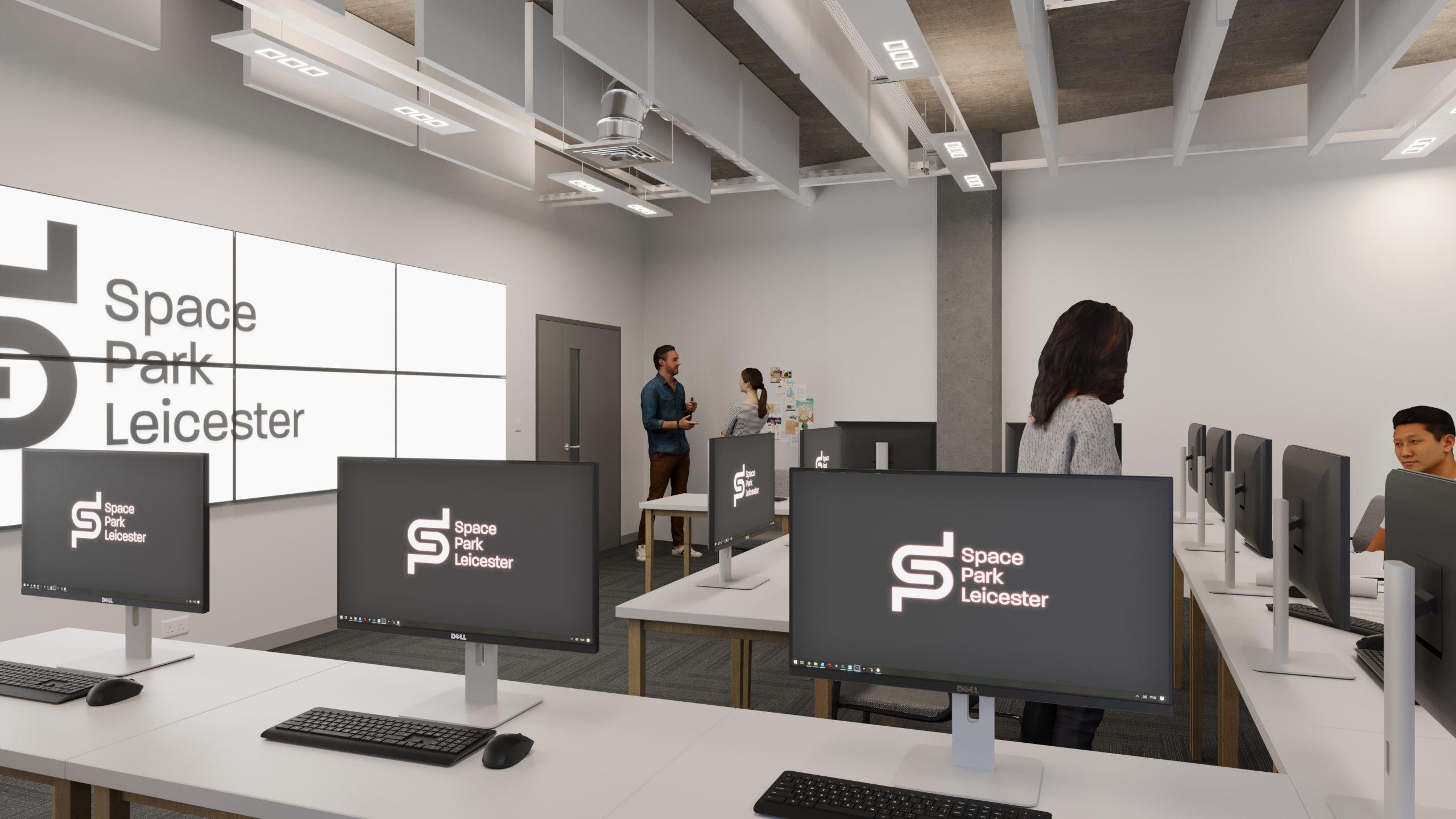 Space Park Leicester concurrent design facility