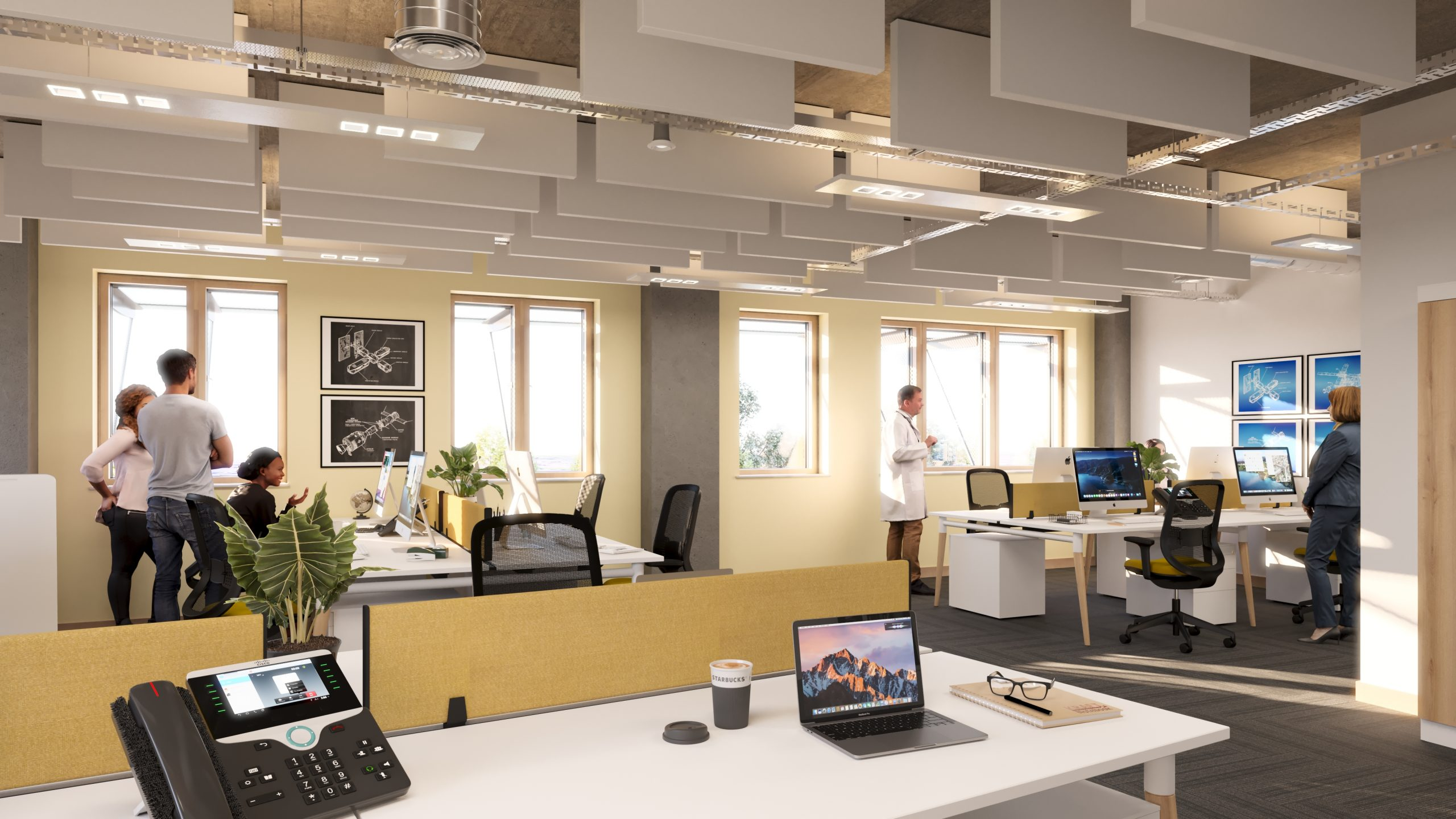 Space Park Leicester office
