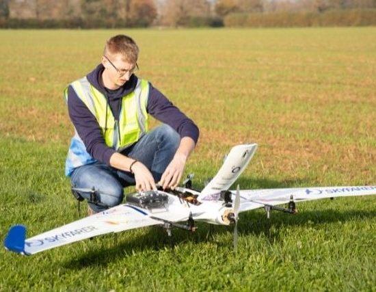 Skyfarer aim to deiver medical supplies by drone