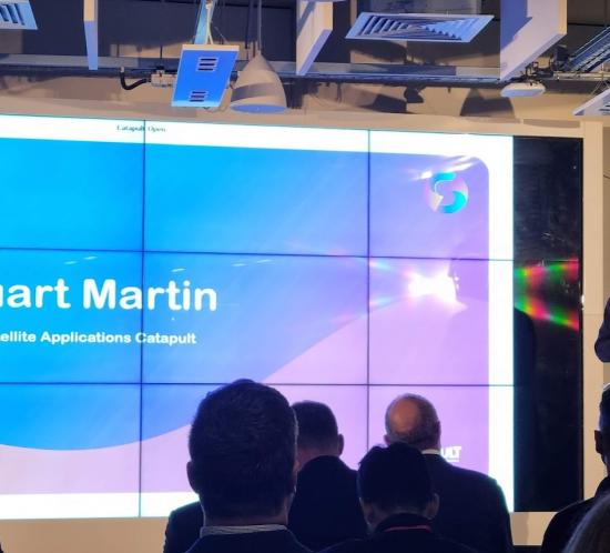 Stuart Martin, CEO, Satellite Applications Catapult